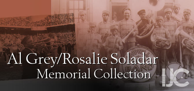 Al Grey/Rosalie Soladar Memorial Collection, IJC - International Jazz Collections